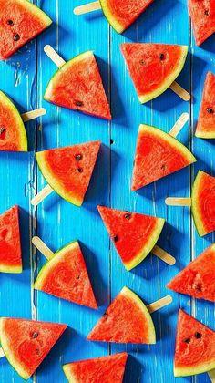 watermelon, summer, and wallpaper