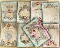 Victoriana Gothic Floral Wedding Invitations