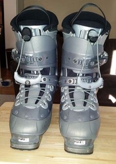Used Salomon Verse 550 Ski Boots 318mm Men's 27.0 Mondo 9 US #Salomon