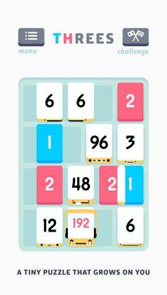 Threes! iOS App