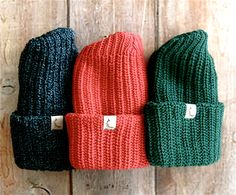 Knit Watch Cap want the charcoal one