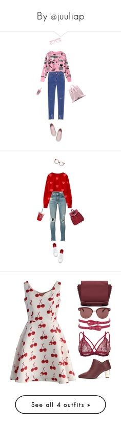 """""""By @juuliap"""" by juuliap ❤ liked on Polyvore featuring Lazy Oaf, rag & bone/JEAN, Chloé, Chicwish, Oliver Peoples, 60secondstyle, summerbooties, yoins, yoinscollection and loveyoins"""