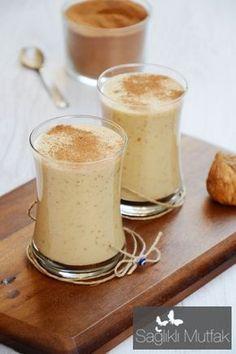 almond, dried fig milk shake
