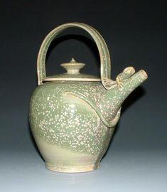 Lyn Mallison Morrow - Lizard Teapot
