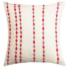 Handcrafted Cotton Throw Pillow