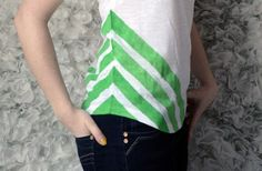 Chevron Shirt, must do!