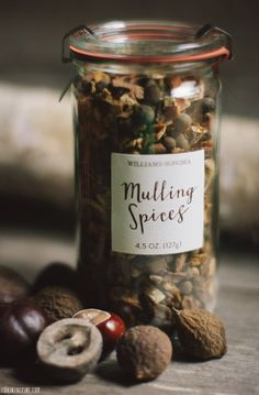 Mulling Spice from Williams Sonoma   //   FOXINTHEPINE.COM
