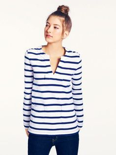 because you can't ever have enough striped shirts — the tropez top by kate spade new york. (april 2014)