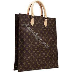 Louis Vuitton Monogram Canvas Sac Plat M51140