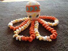 Celine Dion, Friendship Bracelets, Baby, Crochet Octopus, Craft, Octopuses, Crochet Animals, Amigurumi Doll, Toys