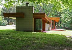 Pratt House / Galesburg, Michigan/ 1951 / Usonian / Frank Lloyd Wirght