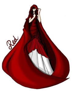 FAIRY TALE GIRLS PROJECT: Red by ~WeleScarlett on deviantART