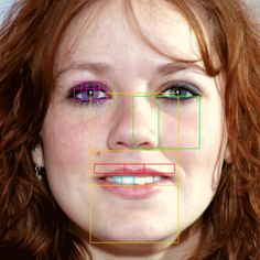 Beauty and proportion in human face showing phi and golden ratio