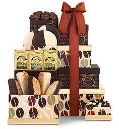 Coffee Time Gourmet Gift Tower $44.95 #bestseller