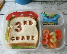 W better way to start off 3rd grade than with a lunch full of 3's?