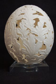 Egg Shell Carving | ... Form of Egg Art - Power Carving | Wood Carving | High Speed Engraving