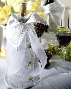 How to make silver champagne cozy champagne diy party ideas party decorations new year new years decorations new year diy decorations new years eve decorations