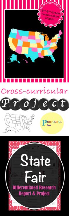 Help Your Students Dig Deeper Into U S History And Geography With A Cross Curricular No