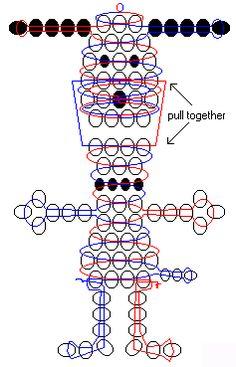 Snoopy beadie pattern