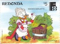 Ken P's Walt Disney on Postage Stamps