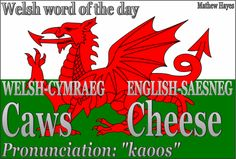More welsh words.