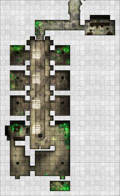 Arkay Salt caverns - Area 3 - Holding Cells by dasomerville.deviantart.com on @DeviantArt  http://dasomerville.deviantart.com/gallery/