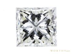 GIA 1.52 CT Princess Cut Solitaire Ring Sold at Auction for $2,790
