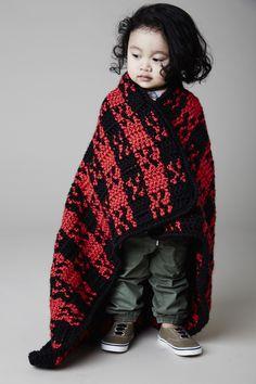 Buffalo Babes Blankie #crochet