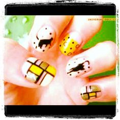 Omg #nails #cats - @prettynaildesigns101- #webstagram