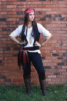 Pirate: With this awesome costume, you'll be ready to set sail.