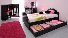 chambre ado fille 17 ans | chambre à coucher design