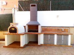 Horno de barro de Pereruela montado en Barcelona