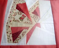 (7) Name: 'Quilting : BUTTERFLY paper pieced block