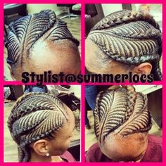 Intricate and pretty @Summer Slater - http://www.blackhairinformation.com/community/hairstyle-gallery/braids-twists/intricate-pretty-summerlocs/