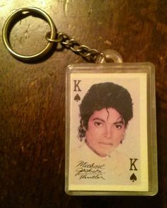 Michael Jackson Thriller Cards Keychain & Madonna A Biography Hardcover Book