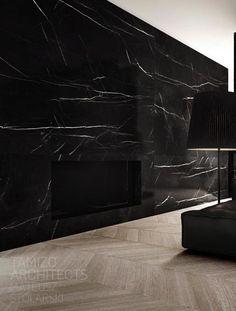   P   Beautiful slab of black marble