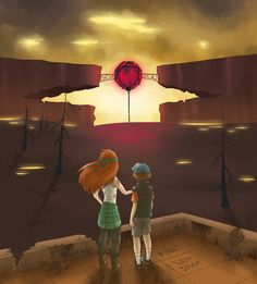 Dipper Pines and Wendy Corduroy Dipper And Wendy, Dipper And Mabel, Dipper Pines, Mabel Pines, Bill Cipher, Beetlejuice, Gravity Falls Personajes, Wendy Corduroy, Gavity Falls