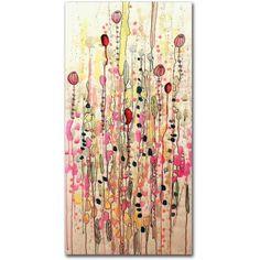 Trademark Fine Art Samsara Canvas Art by Sylvie Demers, Size: 16 x 32, Multicolor