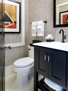 Neutral Bathroom With Standalone Bathtub : Designers' Portfolio : HGTV - Home & Garden Television