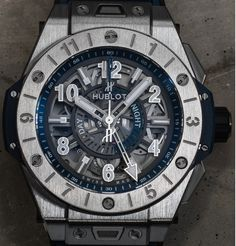 For all who love to travel Hublot has a new timepiece for you and it's the Big Bang UNICO GMT 'Dual Time Zone' Watch, also with the day/night indication  Read all about it: http://www.ablogtowatch.com/hublot-big-bang-unico-gmt-dual-time-zone-watch/