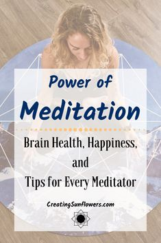 Types of meditation and meditation benefits.  How to focus tips and mindfulness exercises for stress reliefs tips.  Increase your happiness and brain health with meditation mindfulness.  Show some self love and self care by developing a meditation practice.  #mindfulliving #spiritualwellness #energywork #spiritualpractice