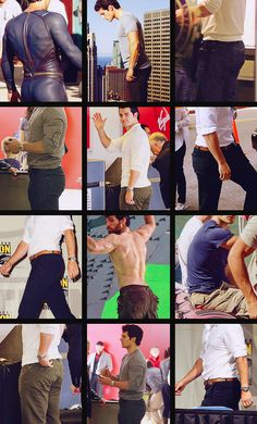 Henry Cavill's butt... and other pictures to make you fall in love with the new superman