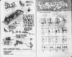 © Fabio Alessandro Fusco, Pathos and palimpsest, 2005 Architecture Sketchbook, Architecture Student, Concept Architecture, Sketch Design, Plan Design, Rendering Drawing, Conceptual Sketches, Arch Model, Concept Diagram
