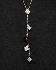 Estate Jewels: Tiffany & Co. 18K 0.36 cttw. Diamond Torque Frank Gehry Necklace