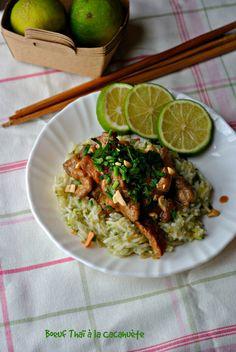 Je t'ai déjà donné deux recettes de boeuf,une thaï ici (clic) et mon fameux bulgogi coréen de y'a pas longtemps (clic).Toujours en recherche de recettes rapides surtout en ce moment où…