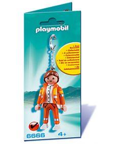 PLAYMOBIL ® 6666 LLAVERO MÉDICA DE URGENCIAS
