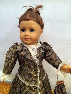Victorian Princess Doll Dress 2012 Couture by SmallWorldCouture