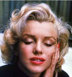 Marilyn Monroe visage