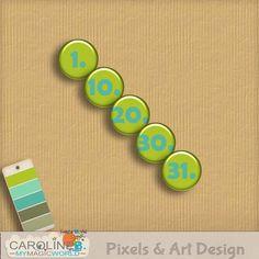 2014 January More Flairs [Caroline B.] - $2.99 : Pixels & Art Design, Scrapbook shop: