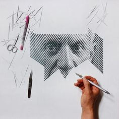 Armed with a scalpel, tweezers and a large sheet of paper, Korean artist Yoo Hyun hand-carves intricate portraits of celebrities past and present. Picasso, Find Your Friends, Portraits, Art Impressions, Design Thinking, Paper Cutting, Cut Paper, Paper Design, Creative Design